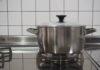 新しいお鍋が仲間入りしてワクワク♪お鍋は中も外も同じように洗って育てていきます